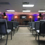 Back of the worship space